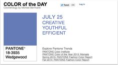 APPart – Mobile Art – Pantone Color of the Day – 'Wedgewood' – TheAppWhisperer