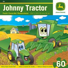 Johnny Tractor Harvest 60pc Puzzle