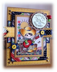 Send A Smile 4 Kids Challenge Blog- Top Three Card by Michaela