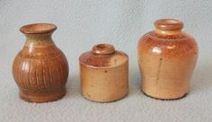 Selection of 3 Antique/ Vintage Stoneware Pots by AToasttothePast, £14.99
