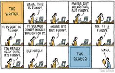 Haha This is Funny by Tom Gauld.