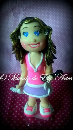 #topodebolo #biscuit #fofinha #personalizada #omundodeely'artes