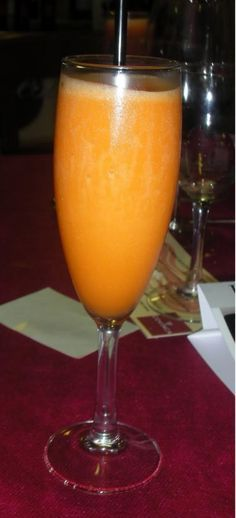 Receta de Sorbete de mandarina con cava en Thermomix
