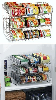 Adorable 70 Simple and Easy Kitchen Storage Organization Ideas https://homearchite.com/2018/02/22/70-simple-easy-kitchen-storage-organization-ideas/ #organizationideas