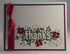 Stampin' Up! Seasonally Scattered.