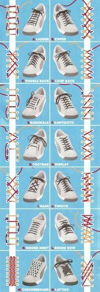 """Quante volte ci siamo divertiti a personalizzare le nostre scarpe con stravaganti lacci colorati in tinta con il resto della scarpa? Beh vi proponiamo una piccola guida su come divertirsi e personalizzare le vostre scarpe anche con un allacciatura """"bizzarra""""  #staytuned"""