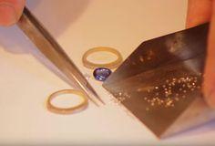 Verlobungsring für den Heiratsantrag und die Verlobung