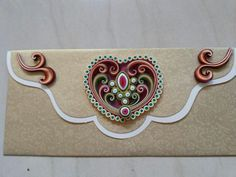 Quilling  - Not done by Debi but I think it is beautiful!