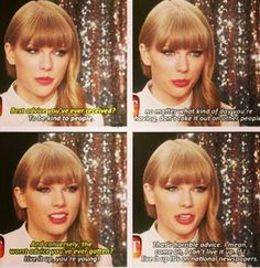 The best and worst advice Taylor Swift has ever received