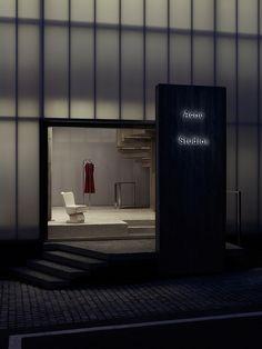 混凝土灯箱风,Acne Studios 韩国首家旗舰店一览 | 理想生活实验室