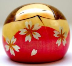 Lovely Creative Kokeshi Doll Hanayama Flower Mountain by Usaburo | eBay