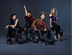 """PUSH GIRLS"":  New TV program follows four chic and sexy ladies and their lives who just happen to be in wheelchairs. Read this New York Times article on this new program showing a unique new approach to TV with main characters with disabilities but are hot, sexy, and fun. THANKS for the positive images!"