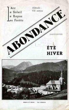 vintage ski abondance ski   Vintage Ski ads from Les Portes du Soleil on Pinterest   Vintage Ski ...