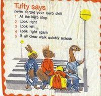 "The Tufty Club ""Kerb drill"". Baby Memories, My Childhood Memories, Teen Tv, 1970s Childhood, Ladybird Books, The Jacksons, Teenage Years, Infant Activities, Adolescence"