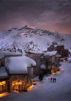 Les Trois Vallées, French Alps