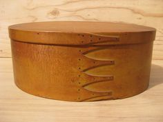 1800's Signed Large 5 Finger Shaker Oval Pantry Box Awesome Original Patina     Sold  Ebay   890.00