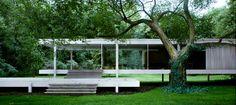 Mies van der Rohe, Farnsworth House, Plano, Illinois, USA