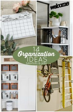 Great Ideas 14 Organization