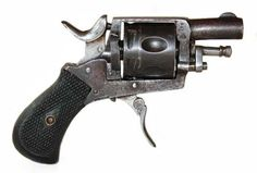 A Belgian version of Webley Bulldog with folding trigger - .320.
