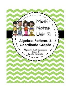Printables Math Expressions Grade 5 Worksheets math notebooks and on pinterest free digital download algebra patterns coordinate graphs aligned to expressions common core grade worksheets with examples instruc
