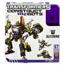 ¡Construye! ¡Personaliza! ¡Convierte! Los Construct-Bots vienen en piezas, constrúyelo en una de sus 3 modos. Utilice las 67 piezas para construir su figura Blitzwing como un guerrero robot, auto o avión. Una vez que lo ha construido en un modo, puede convertirse a otro modo o derribarlo y construirlo nuevo. ¡Construye tus propias aventuras Transformers con esta figura 3-in-1 Blitzwing! Cómpralo en nuestra tienda en línea: Walmart.com.mx, Hacemos Clic!