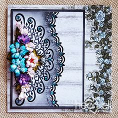 Jewell Toned Blushing Rose card made w/ Classic Wedding collection from #HeartfeltCreations