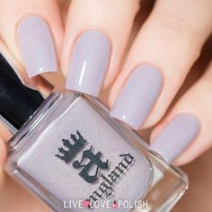 Swatch of A-England Cathy Nail Polish (Emily Bronte Collection)
