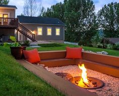 Douglas Larson of Salt Lake City turned a falling-apart trampoline pit into a fabulous outdoor lounge.
