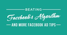 Are you getting the most out of your Facebook ad efforts? As promised in episode 104, my good friend Rick Mulready is back and we are continuing the conversation about Facebook ads. This week we tackle how to make your Facebook ads work for you, how you can leverage Facebook algorithms, and a couple of ... Click to Read More