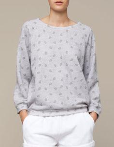Sweat-shirt imprimé cashmere - OYSHO