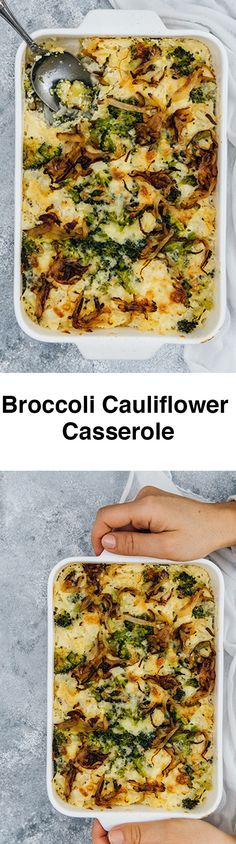 his Broccoli Cauliflower Casserole is a wonderful side dish that you can easily make for special occasions. It is gluten-free and low-carb, yet unbelievably tasty.