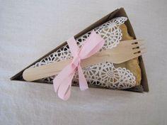 PIE SLICE BOX- For Weddings, Picnics, Parties, Holidays- Pie Box ...
