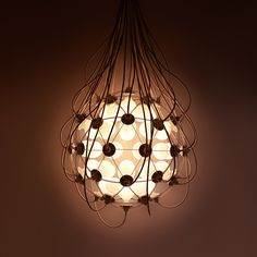 "Satoshi Itasaka designs ""The Birth"" lamp"