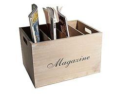 Revistero de madera Storage