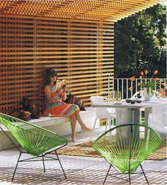 I want these chairs by our pool...