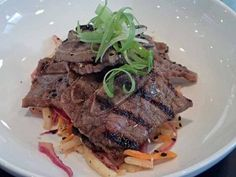 Korean beef short rib appetizer.  | Photo by Steve Coomes