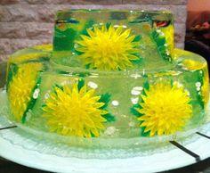 Art De Gelatin  Edible gelatin cake