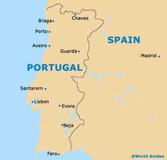 Porto Portugal Map Google Search PortugalPorto Pinterest - Portugal map google