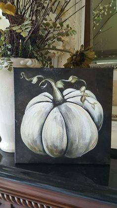 Pumpkin Art - New Deko Sites Fall Canvas Painting, Autumn Painting, Autumn Art, Tole Painting, Painting & Drawing, Fall Paintings, Halloween Painting, Halloween Art, Halloween Canvas Paintings