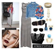 """STREET STYLE: Miranda Kerr"" by kmaryk ❤ liked on Polyvore featuring Topshop, Kerr®, Kate Spade, ALDO, Calvin Klein, Jennifer Lopez, Forever 21, River Island, ORLY and Oscar de la Renta"