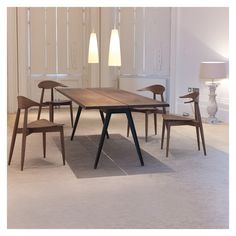 Welles Table Danish Oiled Walnut - Tables - Furniture - Furniture & Lighting - The Conran Shop