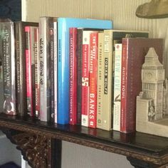 Day Twenty-Nine: autographed books. Autograph Books, Bookshelves, Bookends, Shelf, Day, Home Decor, Bookcases, Shelving, Decoration Home