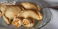 Empanadas sin gluten | Cómo hacer masa para empanadas sin TACC Pan Sin Gluten, Recipe Images, Falafel, Gluten Free, Bread, Vegetables, Recipes, Wraps, Pizza