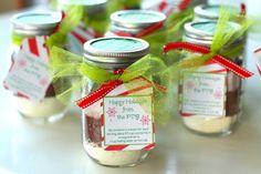 christmas mason jar gifts - Buscar con Google
