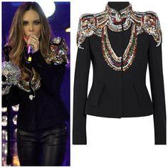 #Belinda wearing an #AlexanderMcqueen jacket.