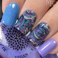 Black Dahlia Lacquer & Literary Lacquers + My favorite water decals