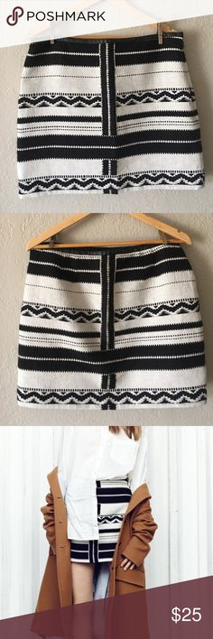 "Madewell ""Gamine"" skirt Waist 17 inches,  hips 20 1/2 and length 16 1/2 inches. Very slight wear Madewell Skirts Mini"