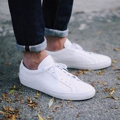 (108) Fancy - White Original Achilles Low Sneakers by Common Projects