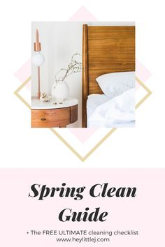 Do you feel overwhelmed when it comes to spring cleaning? Click here to learn my top 5 tips and get your FREE cleaning checklist! Deep Cleaning, Spring Cleaning, Home Organisation, Organization, Carpet Smell, Konmari Method, Declutter Your Home, Cleaning Checklist, House Smells