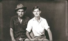 """lgbt-history-archive: """" """"Two pals with cigarettes,"""" Heber Springs, Arkansas, c. Photo by Mike Disfarmer. (at Heber Springs,. Vintage Couples, Cute Gay Couples, Vintage Men, Lgbt Couples, Vintage Black, History Of Photography, Portrait Photography, White Photography, Vintage Photographs"""
